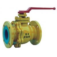 Q41F-10C Fluoroplastic ball valve