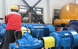 Pic for Product acceptance-SBS series single stage, doublesuction, axially split casing pumps