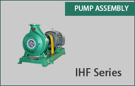 Pic for Non metallic chemical process pump assembly  IHF